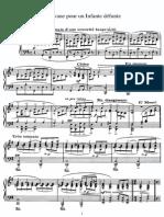 Ravel - Pavane para una infante difunta piano