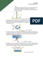 FES0 - GUIA 1 - Fuerza Resultante y Equilibrio en El Plano
