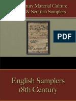 Household - Samplers - English & Scottish