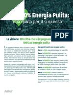 Città 100% Energia pulita