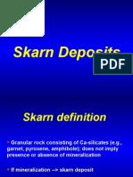2.- Yacimientos en Skarn (Conceptos, Terminología, Clasifica