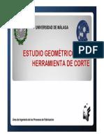 TF Tema 2. Estudio Geometrico de Las Hras. de Corte