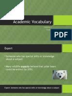 academic vocabulary 8 2