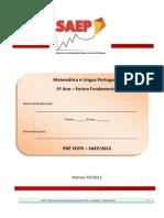 Segunda Avaliacao Oficial Saep 2012 5ano