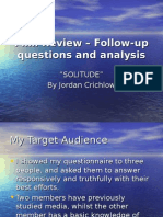 Film Review – Follow-up Questions and Analysis