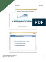 Objetivos de la Evaluación en Documentación