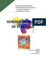 Generos Musicales Venezuela