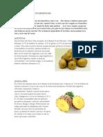 Lista de Frutas Con Sus Beneficios
