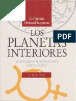 Los Planetas Interiores - Liz Greene y H Sasportas