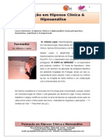 Hipnoanálise Objetivos e Formacão