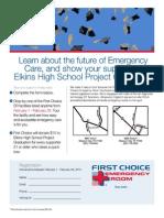 elkins hs project grad fundraiser flyer