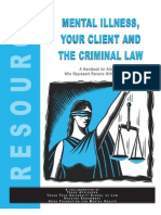 Mental Illness, Your Client, And the Criminal Law