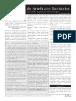 INSTALACION DE ARTEFACTOS SANITARIOS