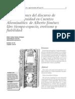 Montero Rodríguez Con Tesis Sobre Cuentos Abominables