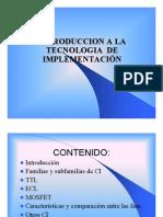 Tecnologias de Implementación en VHDL