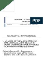 Contractul de vÂnzare InternaŢionalĂ