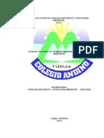 4. Plan de Estudios de Ciencias 2014
