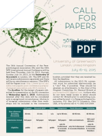 2015 PA Convention Call for Papers
