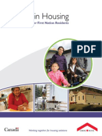 Mold in Housing - Information for First Nation Residents