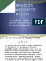 OPERACIÓN TRANSPORTE AEREO