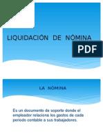 LIQUIDACION DE NOMINA