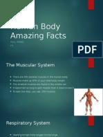 human body amazing facts