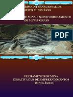 Plano de Fechamento de Minas