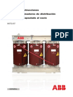 Manual de Instrucciones transformador seco ABB