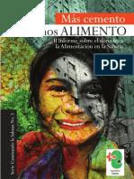 Mas Cemento, Menos Alimento. II Informe Sobre el derecho a la alimentación en la sabana - Corporación Cactus
