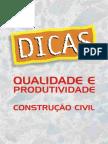 Cartilha_Qualidade e Produtividade Na Construção Civil