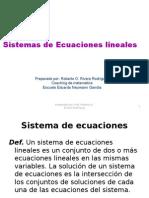 presentacin de la unidad v-sistemas de ecuaciones lineales