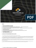 TecPanels - Installation