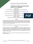 Propuesta de una Política de Gestión de Inventarios Multi-eslabón (s, Q) en Hospitales