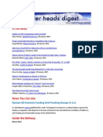 Cooler Heads Digest 30 January 2015