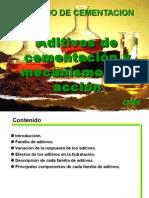 Capitulo II Aditivos de Cementación y Su Comportamiento