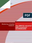 The 2009 EU Industrial R&D investment scoreboard