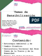 Temas de Sensibilización-MARENA -2012