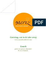 meriz fresh food menu bara