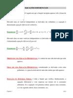 Resumo - Equações Diferenciais Ordinárias
