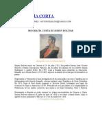 Biografía Corta Simon Bolivar
