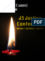 J3 Conference Prayer Cards Outreach