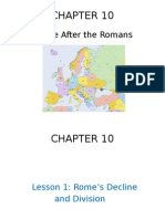 chapter 10- europe after the romans- lesson 1