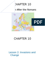 chapter 10- europe after the romans- lesson 2
