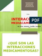 Interacciones medicamentosas 2011