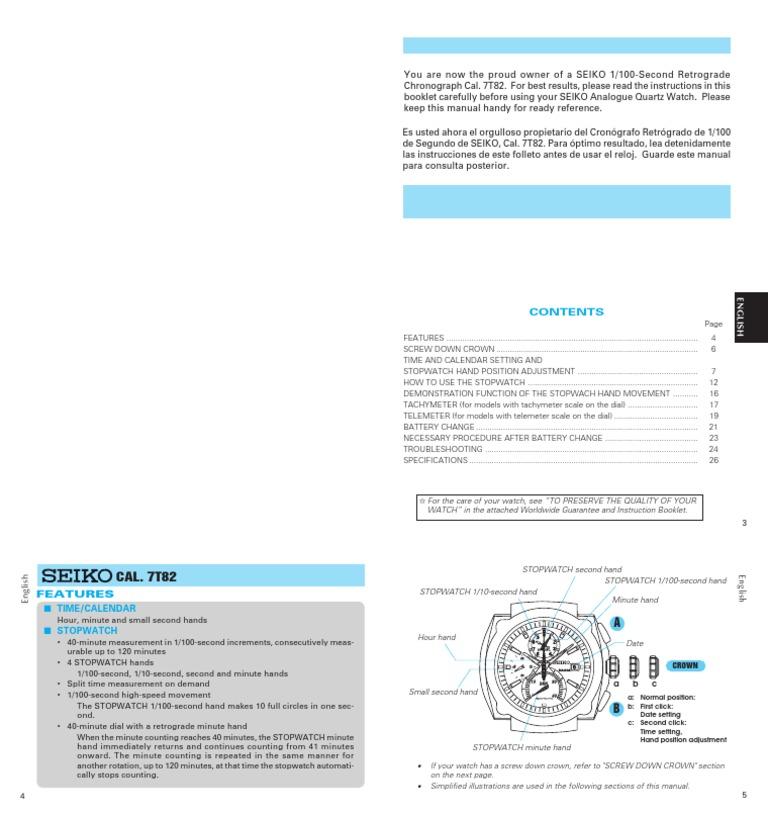 Seiko alarm chronograph tachymeter watch 100m snac49p1, seiko.