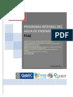 Programa Integral Del Agua de Ensenada(Piae)