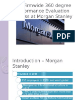 Morgan Stanley 360 Degree Performance Review