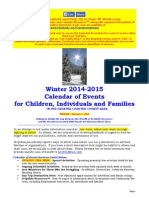 Calendar of Events - February 1, 2015
