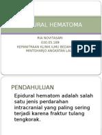 E[idural Hematom