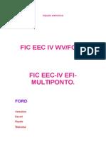 Modulo de Injeçao Ford FIC EEC4 Multiponto